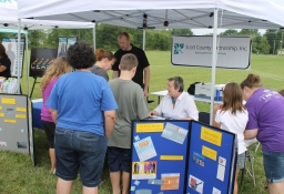Scott County Partnership Tent
