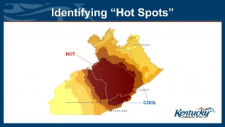 Identifying 'Hot Spots' in Kentucky
